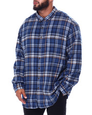 Big & Tall Faves - L/S Fireside Flannel (B&T)-2447558