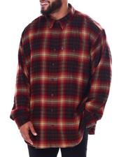 Big & Tall Faves - L/S Fireside Flannel (B&T)-2447475