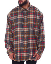 Big & Tall Faves - L/S Fireside Flannel (B&T)-2447501