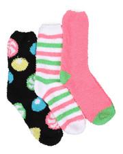 Socks - 3PK Candy Cozy Socks-2444025