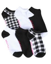 Socks - 6PK Pattern Low Cut Socks-2444022