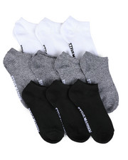 Women - 10 Pk Solid & Marled Low Cut Socks-2444134