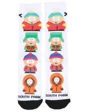 Socks - South Park 8 Bit Crew Socks-2449003