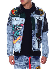 Denim Jackets - Take Over Denim Jacket-2450378