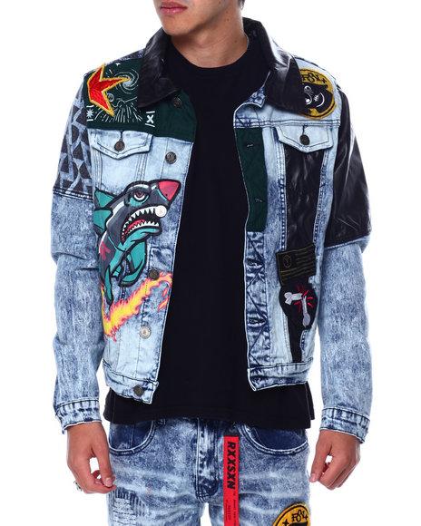 Reason - Take Over Denim Jacket