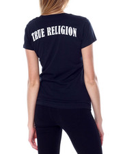 True Religion - Double Puf V Neck Tee-2450654