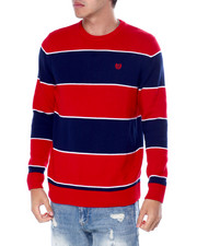 Sweatshirts & Sweaters - Stripe Crewneck Sweater-2451086