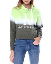 Calvin Klein - Horizon Dip Dye Large CK Logo Hoodie-2450791