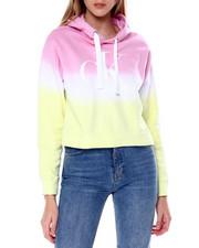 Calvin Klein - Horizon Dip Dye Large CK Logo Hoodie-2450800