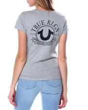 True Religion - Big HS V Neck Tee-2450629
