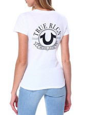 Women - Big HS V Neck Tee-2450634