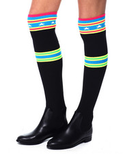 Footwear - Over The Knee Sock Boot-2450809