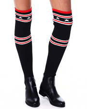 Footwear - Over The Knee Sock Boot-2450829