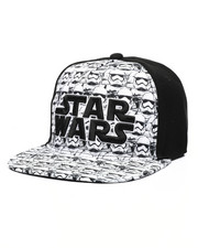 Hats - Star Wars Storm Trooper All Over Print Snapback Hat-2446747