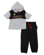 Enyce - 2 Pc Jogger Set (2T-4T)-2444876