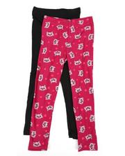 La Galleria - 2 Pack Yummy Leggings (4-6X)-2448670