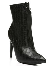 Footwear - Front Zip-Up Bootie-2441212