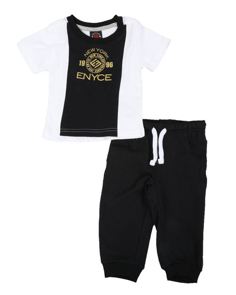 Enyce - 2 Pc Jogger Set (2T-4T)