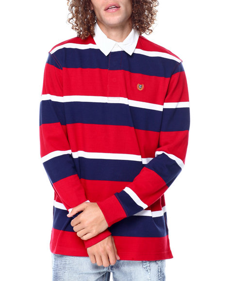 Chaps - LS STRIPE RUGBY