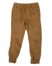 Pants - Stretch Twill Moto Jogger Pants (4-7)-2451399
