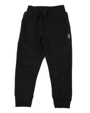 Sweatpants - Moto Fleece Joggers (2T-4T)-2451384