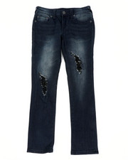 Boys - Rocco Single End Jeans (8-20)-2451543