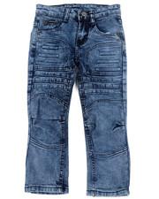 Boys - Skinny Stretch Embossed Jeans (4-7)-2451498