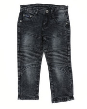 Arcade Styles - Skinny Stretch Cut And Sew Jeans (2T-4T)-2449479