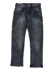 Jeans - Skinny Stretch Cut And Sew Jeans (8-18)-2449697