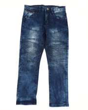 Boys - Skinny Stretch Cut And Sew Jeans (8-18)-2449714