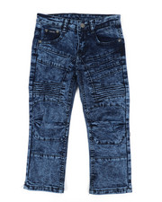 Boys - Skinny Stretch Cut And Sew Jeans (4-7)-2449350