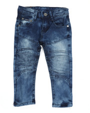 Arcade Styles - Skinny Stretch Cut And Sew Jeans (2T-4T)-2449589