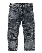 Arcade Styles - Skinny Stretch Embossed Jeans (2T-4T)-2449805
