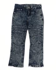 Boys - Skinny Stretch Embossed Jeans (4-7)-2450710