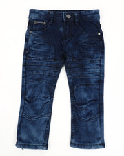 Arcade Styles - Skinny Stretch Embossed Jeans (2T-4T)-2450699