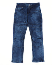 Jeans - Skinny Stretch Embossed Jeans (8-18)-2450703