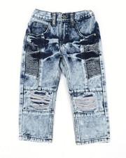 Arcade Styles - Moto Denim Jeans (2T-4T)-2450695