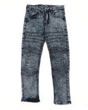 Jeans - Skinny Stretch Embossed Jeans (8-18)-2449782