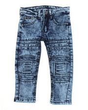 Arcade Styles - Skinny Stretch Embossed Jeans (2T-4T)-2449824