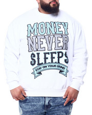 Sweatshirts & Sweaters - Money Never Sleep Sweatshirt (B&T)-2450567