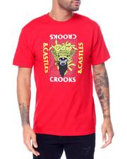 Crooks & Castles - SKULL MASK MEDUSA SS TEE-2452281