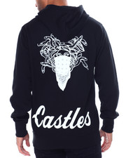 Crooks & Castles - CROOKS ESSENTIAL PULL OVER HOODY-2452411