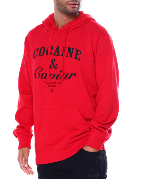 Crooks & Castles - COCAINE and CAVIAR PULL OVER HOODY