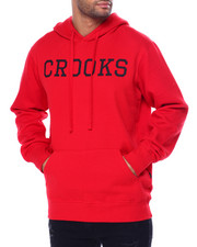 Crooks & Castles - CROOKS ESSENTIAL PULL OVER HOODY-2452417