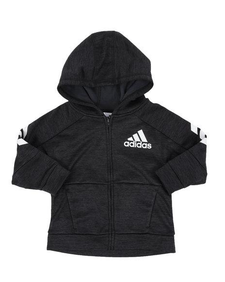 Adidas - Hooded Melange Jacket (2T-4T)