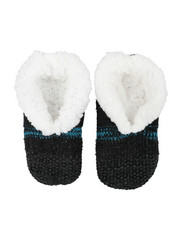 Footwear - Lounge Faux Fur Lined Slipper Socks-2444030