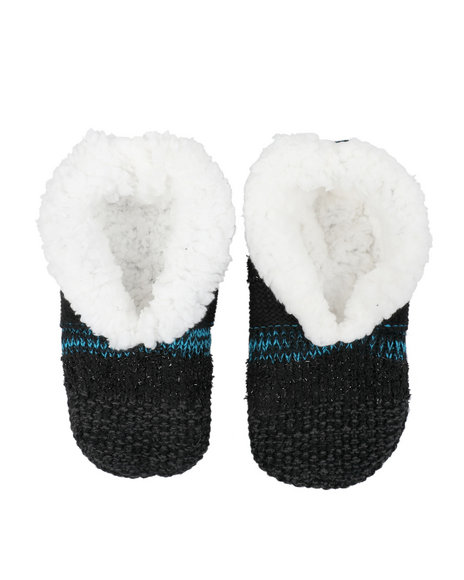 Fashion Lab - Lounge Faux Fur Lined Slipper Socks