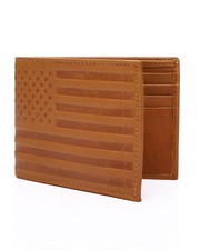 Wallets - American Flag Leather Wallet-2449106