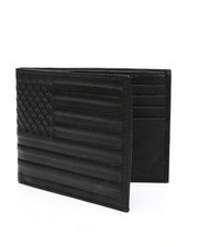 Wallets - American Flag Leather Wallet-2449089