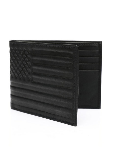 Buyers Picks - American Flag Leather Wallet